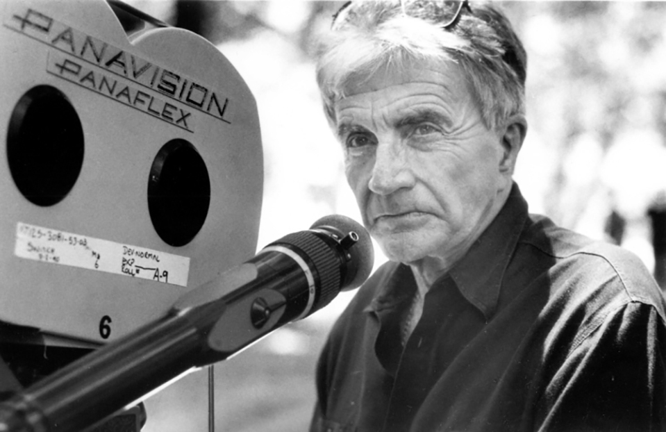 "Blake Edwards sur le tournage de ""L'Homme à femmes"" (The Man Who Loved Women) 1983"