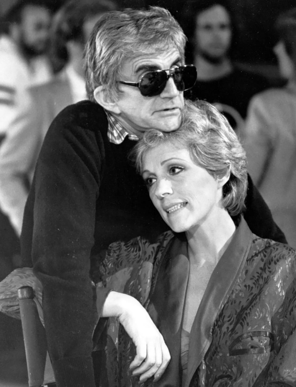 Blake Edwards et Julie Andrews dans les années1980