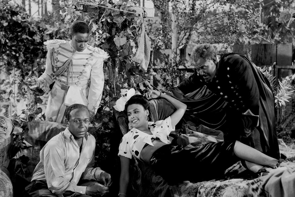 """""""Un petit coin aux cieux"""" (Cabin in the Sky) réalisé par Vincente Minnelli et (non crédité) Busby Berkeley (1943)"""