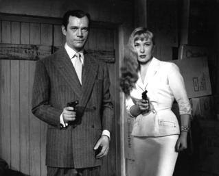 LA MÔME VERT-DE-GRIS - Bernard Borderie (1953) avec Eddie Constantine, Dominique Wilms, Howard Vernon, Dario Moreno, Jean-Marc Tennberg