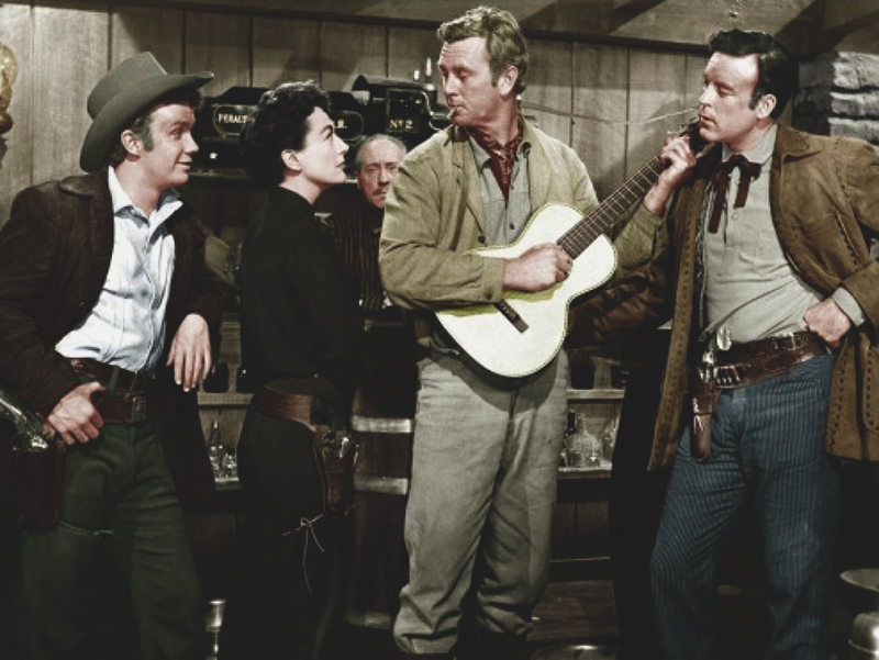 JOHNNY GUITAR - Nicholas Ray (1954) - Joan Crawford et Sterling Hayden