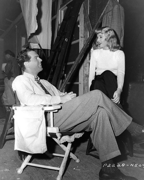 DOUBLE INDEMNITY - Billy Wilder (1944) - Photo de tournage