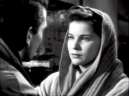 CRY OF THE CITY (Robert Siodmak, 1948) - Debra Paget
