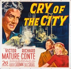 CRY OF THE CITY (Robert Siodmak, 1948)