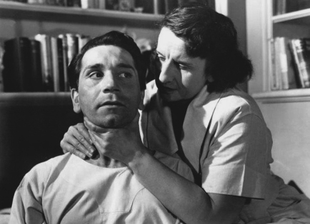 CRY OF THE CITY (Robert Siodmak, 1948) - Richard Conte et Hope Emerson