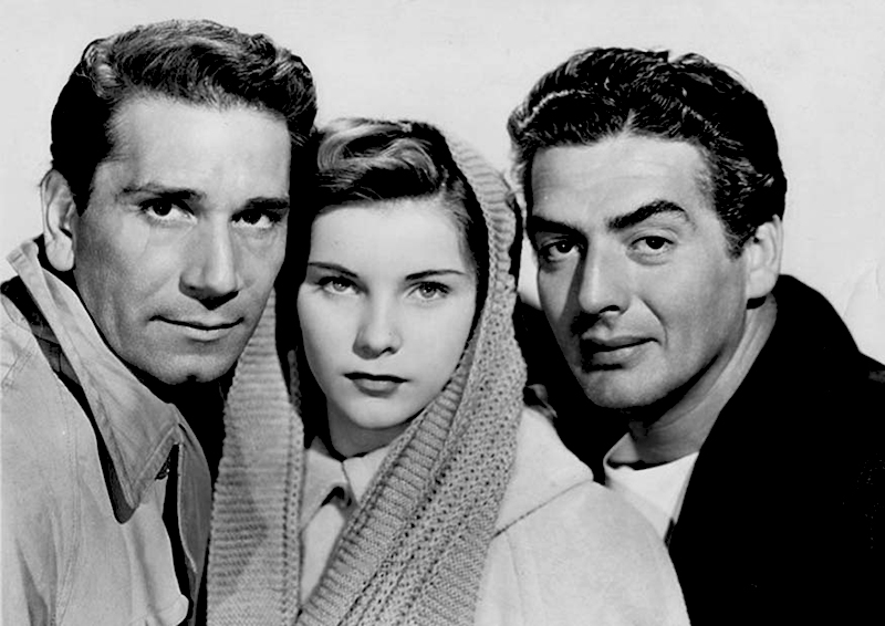 CRY OF THE CITY (Robert Siodmak, 1948) - Richard Conte, Debra Paget et Victor Mature