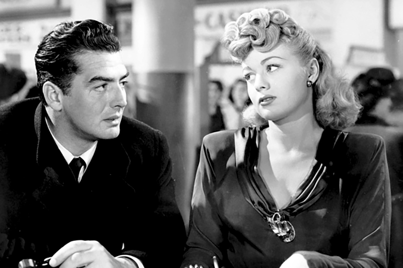 CRY OF THE CITY (Robert Siodmak, 1948) - Victor Mature et Shelley Winters