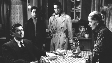CRY OF THE CITY (Robert Siodmak, 1948) - Victor Mature, Tommy Cook, Richard Conte, Mima Aguglia