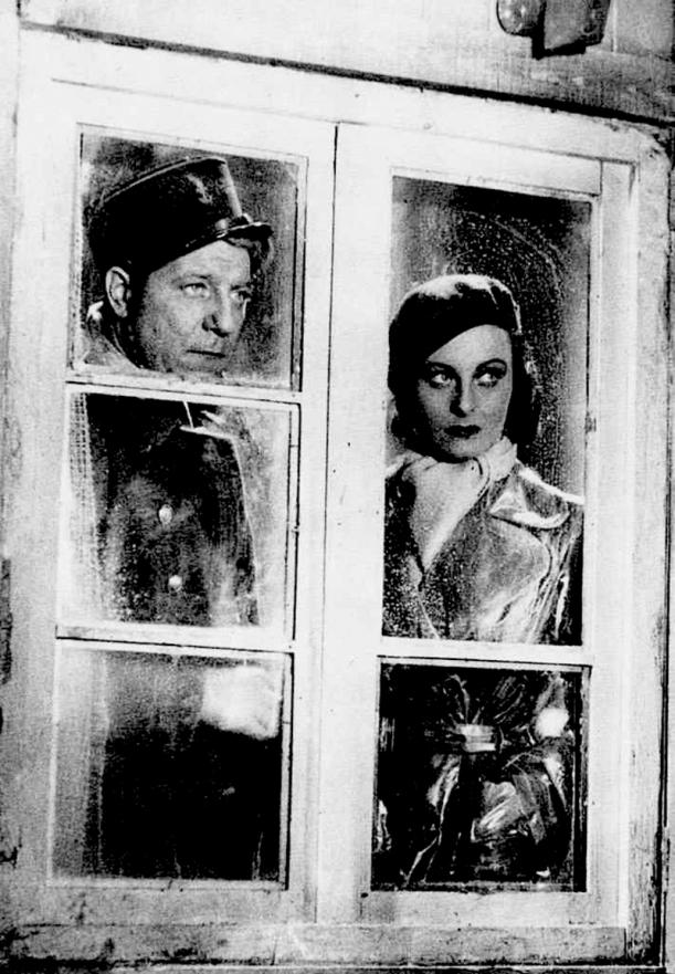 Jean Gabin et Michèle Morgan dans Le Quai des brumes (Marcel Carné, 1938)