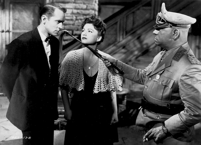 Le premier film de l'association Billy Wilder-John Seitz : Les Cinq Secrets du désert (Five Graves to Cairo - (1943) avec Erich von Stroheim