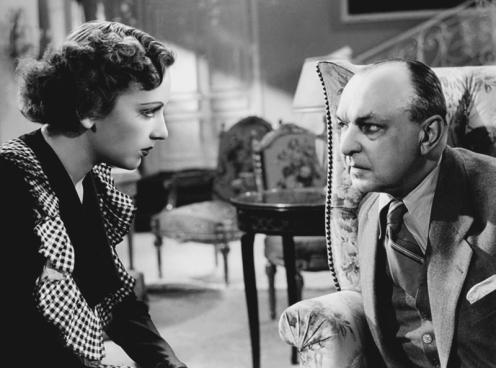"""Mireille Balin et Pierre Renoir dans """"Dernier Atout"""" de Jacques Becker (1942)"""