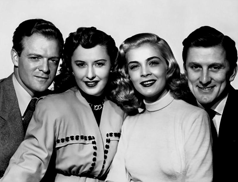 THE STRANGE LOVE OF MARTHA IVERS (L'Emprise du crime) – Lewis Milestone (1946) - Van Heflin, Barbara Stanwyck, Kirk Douglas, Lizabeth Scott