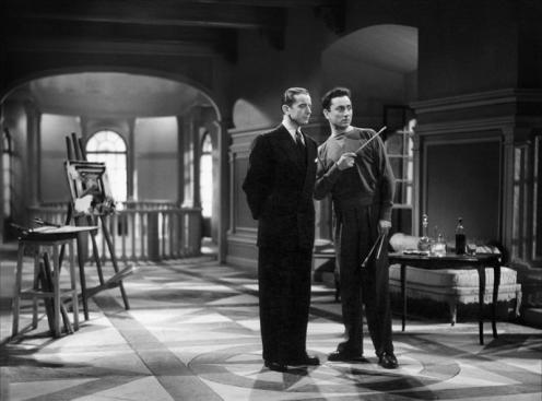 """Paul Bernard et Pierre Brasseur dans """"Lumière d'été"""" de Jean Grémillon (1943)"""