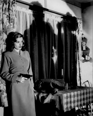 """Jane Greer dans """"Out of the past"""" de Jacques Tourneur (1947), la superbe photographie du film est assurée par Nicholas Musuraca"""