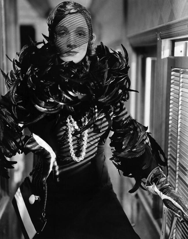 "Marlene Dietrich dans ""Shanghaï Express"" de Josef von Sternberg (1932)"