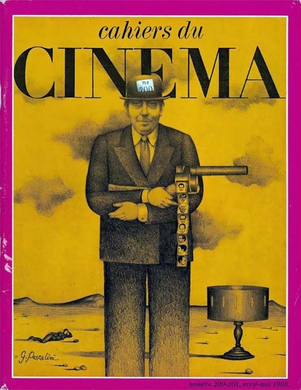 """""""Les Cahiers du cinéma"""" numéro 200 et 201 (avril - mai 1968) une assemblée générale de la Cinémathèque rétablit..."""