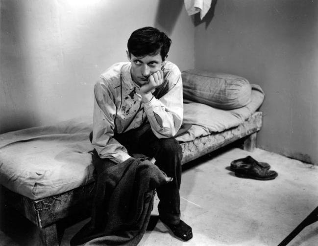 """""""Un condamné à mort s'est échappé"""" de Robert Bresson (1956) avec François Leterrier, Charles Le Clainche, Maurice Beerblock"""