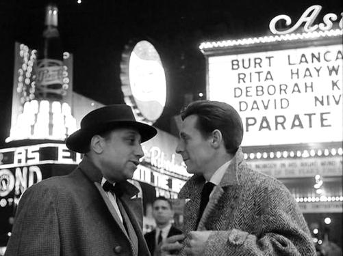 """""""Deux hommes à Manhattan"""" de Jean-Pierre Melville (1959) avec Jean-Pierre Melville, Pierre Grasset, Christiane Eudes, Ginger Hall"""