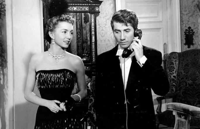 """""""Édouard et Caroline"""" de Jacques Becker (1951) avec Daniel Gélin, Anne Vernon"""