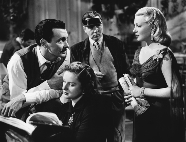 THE BAD AND THE BEAUTIFUL (Les Ensorcelés) – Vincente Minnelli (1952) - Barry Sullivan (Fred Amiel), Lana Turner (Georgia Lorrison)