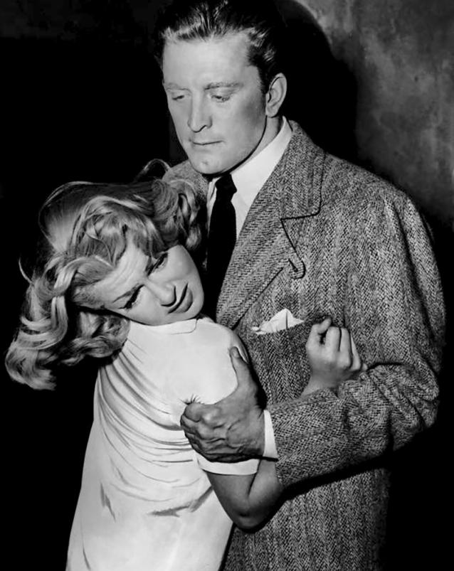 THE BAD AND THE BEAUTIFUL (Les Ensorcelés) – Vincente Minnelli (1952) - Kirk Douglas (Jonathan Shields), Lana Turner (Georgia Lorrison)