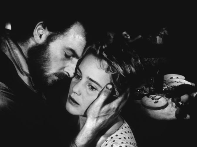 """""""Gervaise"""" de René Clément (1956) inspiré du roman d'Emile Zola """"L'Assommoir"""" avec Maria Schell, François Périer, Suzy Delair, Armand Mestral"""