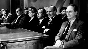 """""""Justice est faite"""" d'André Cayatte (1950) avec Noël Roquevert, Valentine Tessier, Claude Nollier, Antoine Balpêtré, Raymond Bussières"""