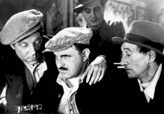 """La Belle équipe"" de Julien Duvivier (1936) avec Jean Gabin, Charles Vanel, Raymond Aimos, Charles Dorat,Raphaël Médina, Viviane Romance"
