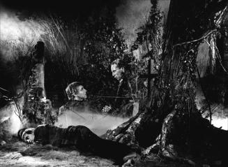 """La Charrette fantôme"" de Julien Duvivier (1939) avec Pierre Fresnay, Louis Jouvet, Micheline Francey, Marie Bell"