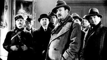"""""""La Tête d'un homme"""" de Julien Duvivier (1933) avec Harry Baur,Valéry Inkijinoff, Alexandre Rignault, Gaston Jacquet"""