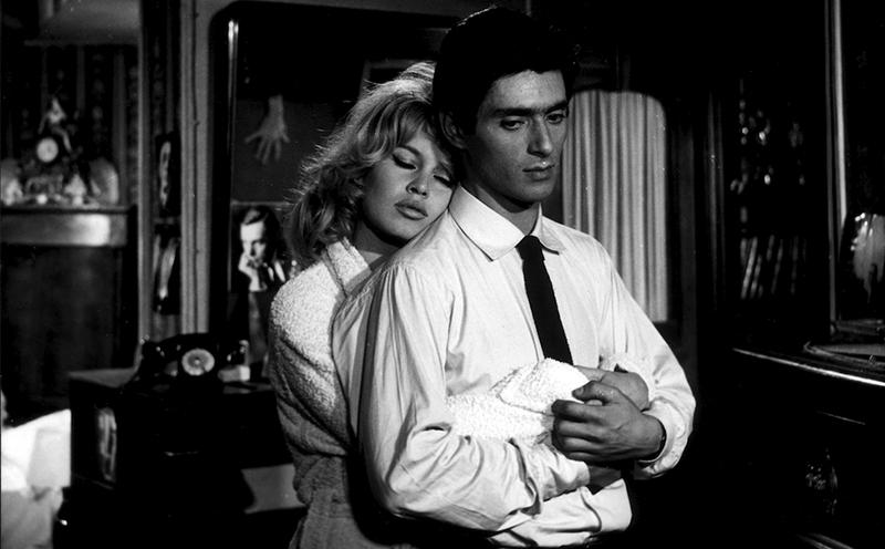 """""""La Vérité"""" d'Henri-Georges Clouzot (1960) avec Brigitte Bardot, Sami Frey, Charles Vanel, Paul Meurisse et Marie-José Nat"""