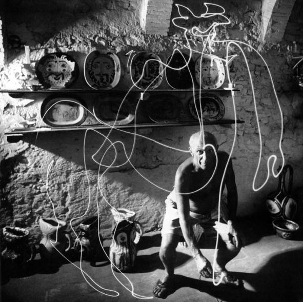 """""""Le Mystère Picasso"""" d'Henri-Georges Clouzot (1955)"""