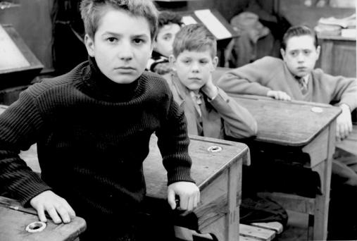 """""""Les quatre cents coups"""" de François Truffaut (1959) avec Jean-Pierre Léaud, Claire Maurier, Albert Rémy"""
