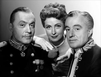 """Madamme de..."" de Max Ophüls (1953) avec Danielle Darrieux, Charles Boyer, Vittorio De Sica, Jean Debucourt"