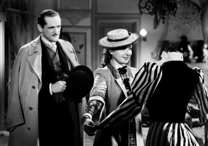 """""""Le Mariage de Chiffon"""" de Claude Autant-Lara (1942), adaptation du roman éponyme de Gyp avec Odette Joyeux, André Luguet, Jacques Dumesnil,"""