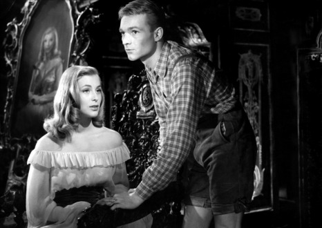"""""""Marianne de ma jeunesse"""" de Julien Duvivier (1955) avec Marianne Hold, Pierre Vaneck"""