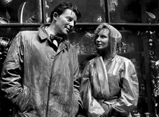 """""""Monsieur Ripois"""" de René Clément (1954) avec Gérard Philipe, Natasha Parry, Valerie Hobson, Joan Greenwood"""