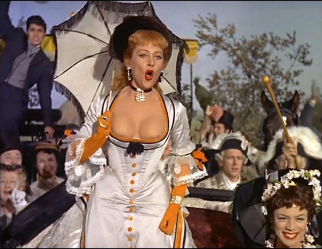 """""""Nana"""" de Christian-Jaque (1955) avec Martine Carol et Charles Boyer"""