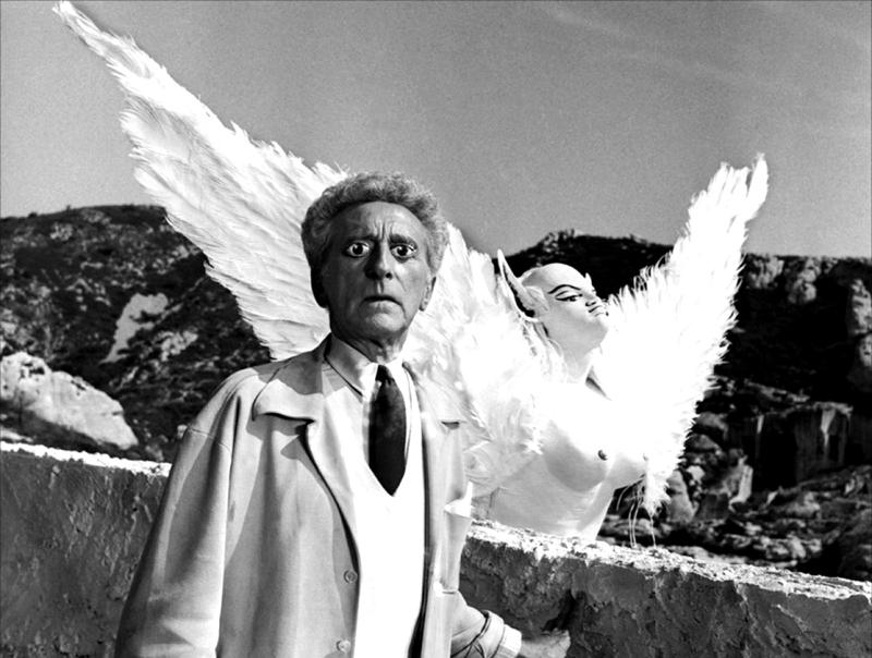"""""""Le Testament d'Orphée"""" de Jean Cocteau (1960) avec Jean Cocteau, Jean Marais, Maria Casarès, François Perier, Édouard Dermit"""