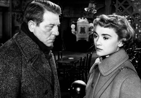 """""""Voici le temps des assassins"""" de Julien Duvivier (1956) avec Jean Gabin, Danièle Delorme, Gérard Blain, Lucienne Bogaert"""