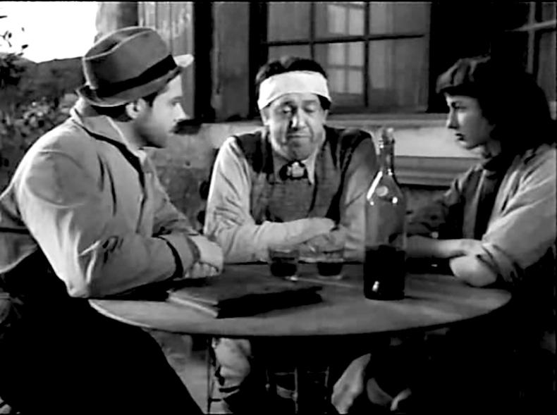 """""""Le Dernier Tournant"""" de Pierre Chenal (1939) avec Fernand Gravey,Michel Simon, Corinne Luchaire et Robert Le Vigan. Il s'agit d'une adaptation du roman Le facteur sonne toujours deux fois (The postman always rings twice) de James M. Cain, publié en 1934."""