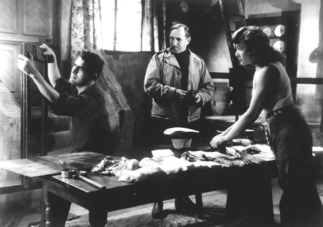 """""""Le Diable souffle"""" d'Edmond T. Gréville (1947) avec Charles Vanel, Héléna Bossis, Jean Chevrier"""