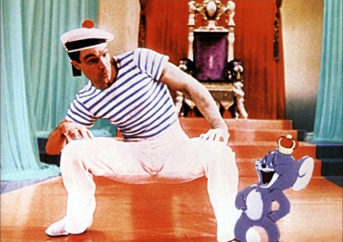 ANCHORS AWEIGH (Escale à Hollywood) - George Sidney (1945) - Frank Sinatra, Gene Kelly, Kathryn Grayson