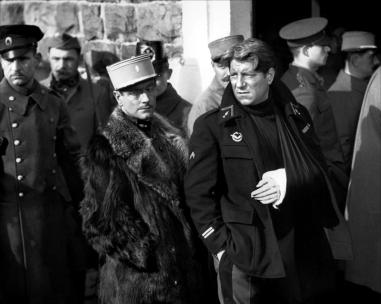 Pierre Fresnay et Jean Gabin dans La Grande illusion (Jean Renoir, 1937)