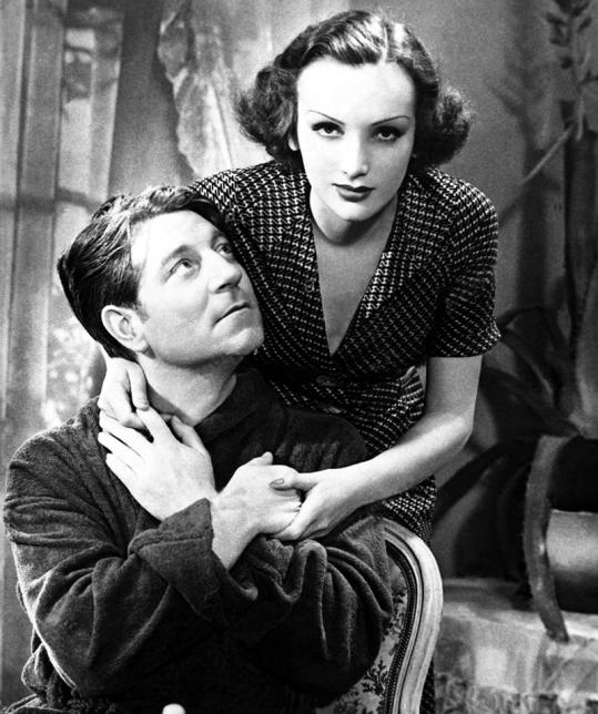 Jean Gabin et Mireille Balin dans Gueule d'amour (Jean Grémillon, 1937)