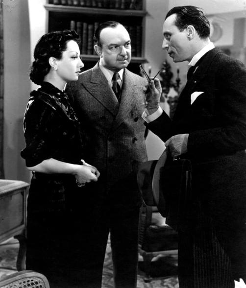 """""""La Maison du Maltais"""" de Pierre Chenal (1938) avec Louis Jouvet, Viviane Romance, Jany Holt, Pierre Renoir, Marcel Dalio"""