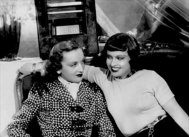 """""""Menaces"""" d'Edmond T. Gréville (1940) - Mireille Balin et Ginette Leclerc"""