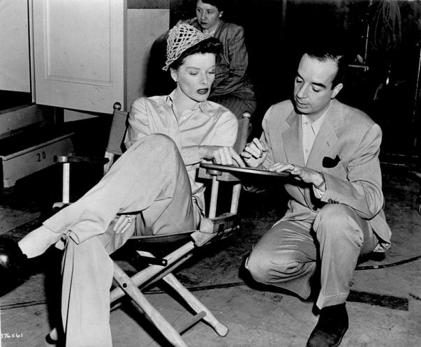 UNDERCURRENT (Lame de fond) – Vincente Minnelli (1946) - Katharine Hepburn et Vincente Minnelli
