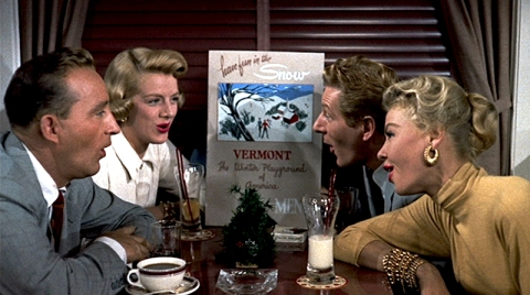 WHITE CHRISTMAS – Michael Curtiz (1954) - Bing Crosby, Danny Kaye, Rosemary Clooney, Vera-Ellen