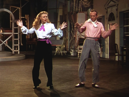 """Bouncin' the Blues"" - Fred Astaire et Ginger Roger dans THE BARKLEYS OF BROADWAY - Charles Walters (1949)"